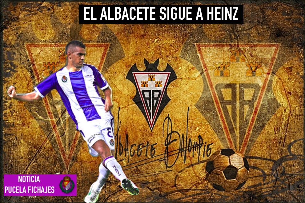 El Albacete sigue a Heinz