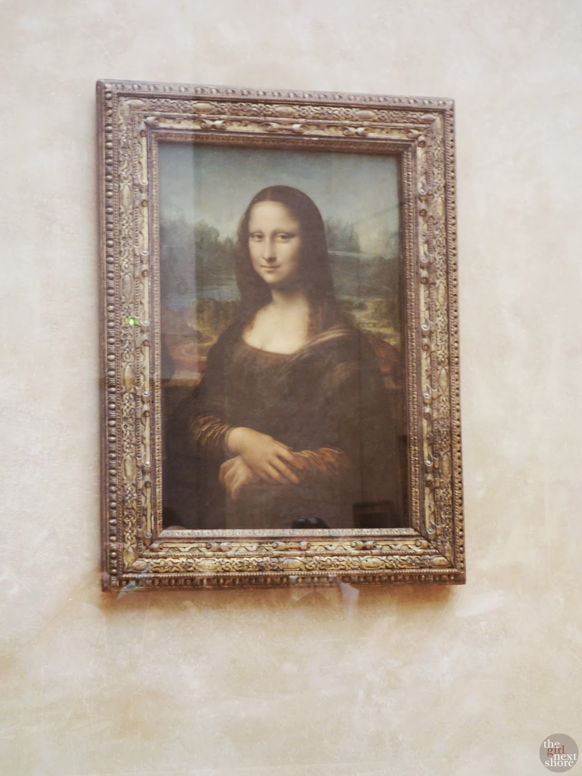 Mona Lisa at The Louvre | Girl Next Shore