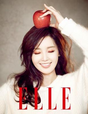 Nam Gyu Ri - Elle Magazine December Issue 2013
