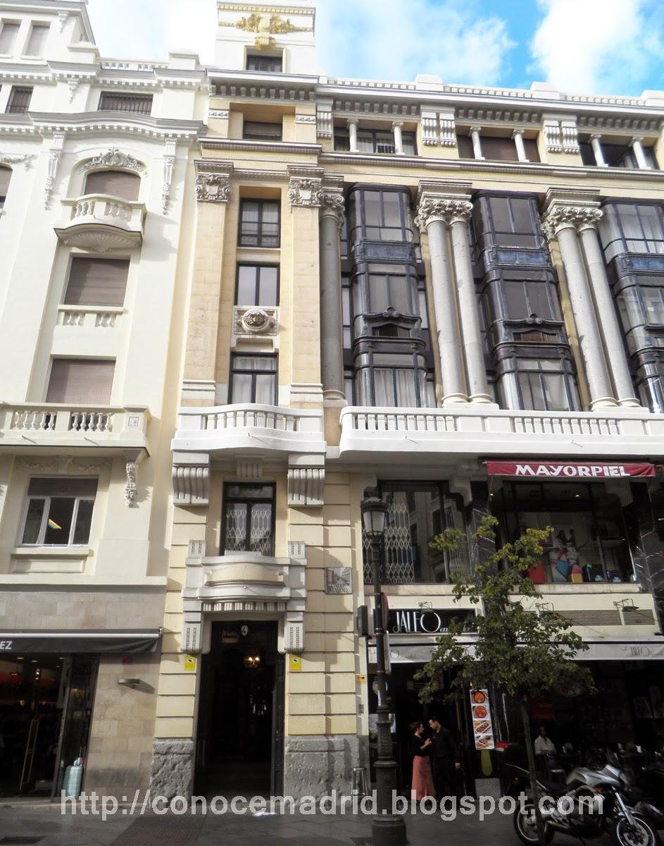 Conocer madrid edificios en la calle mayor for Oficinas ono madrid