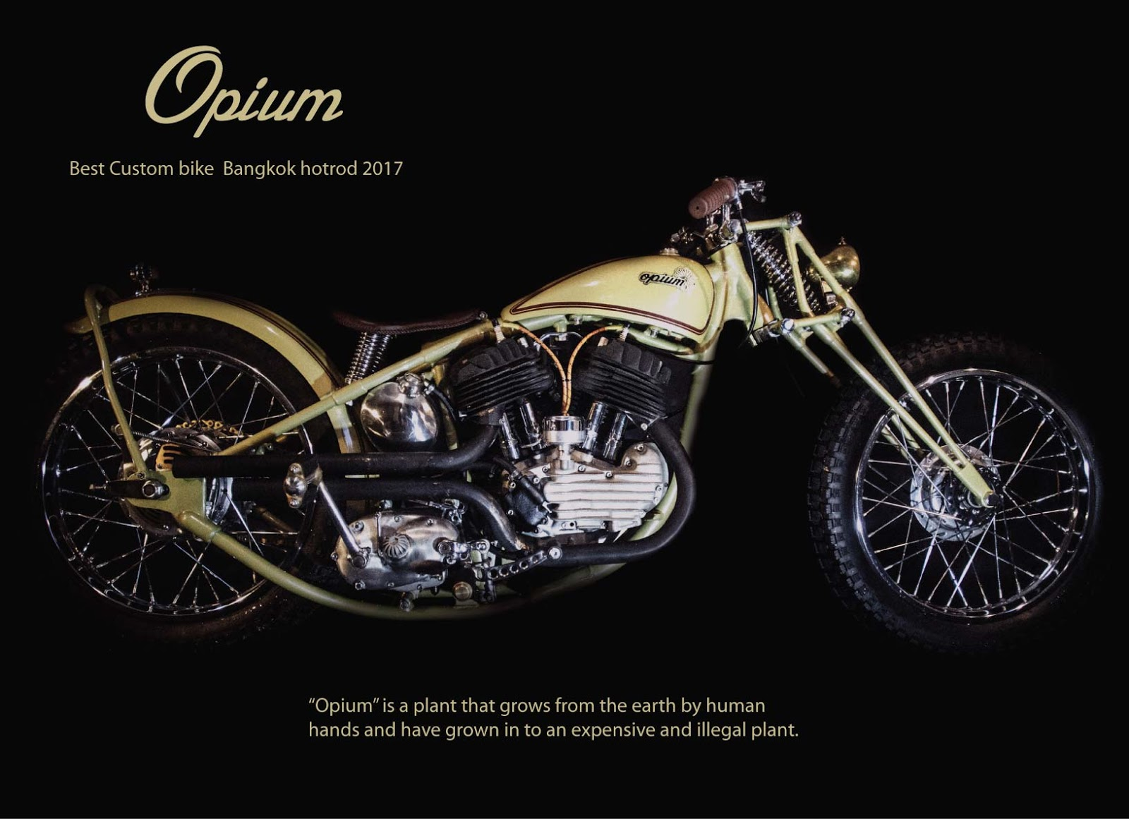 Opium Bike by 70'Lover Motorcycle