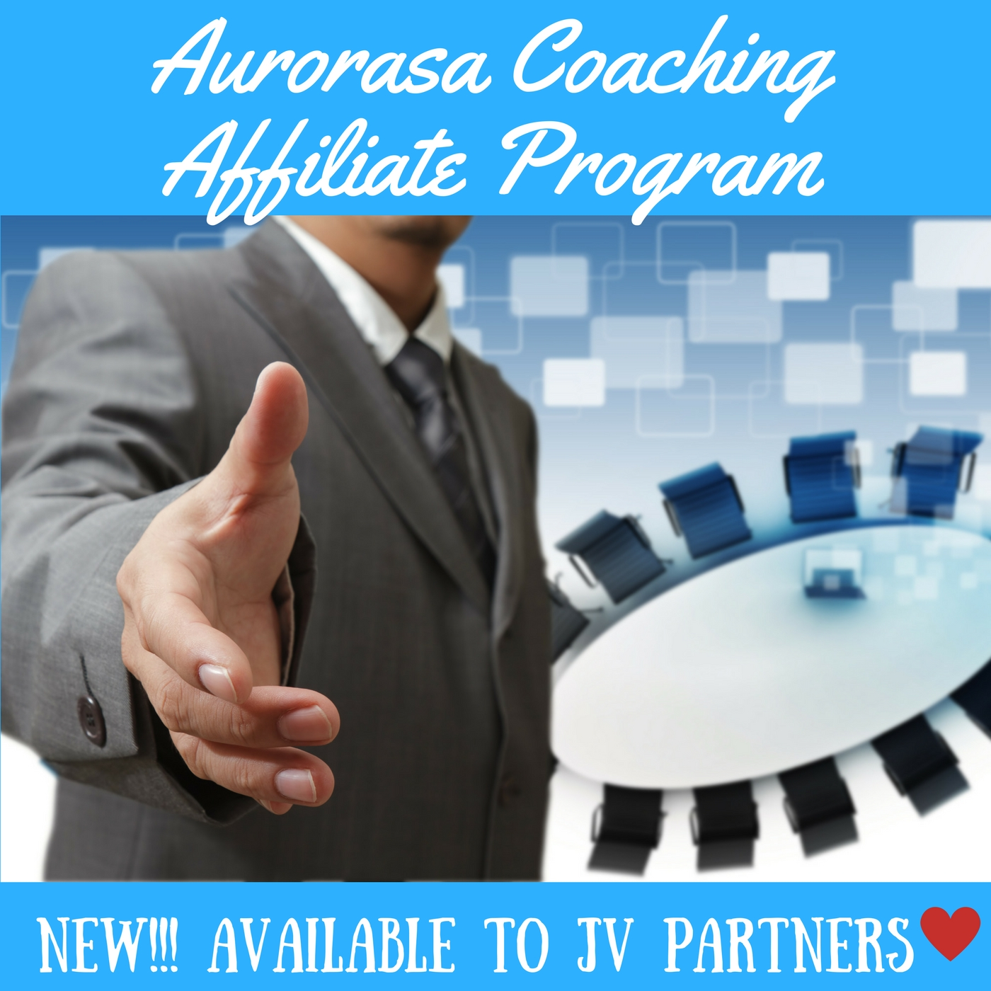 Affiliates and JV Partner are welcome!