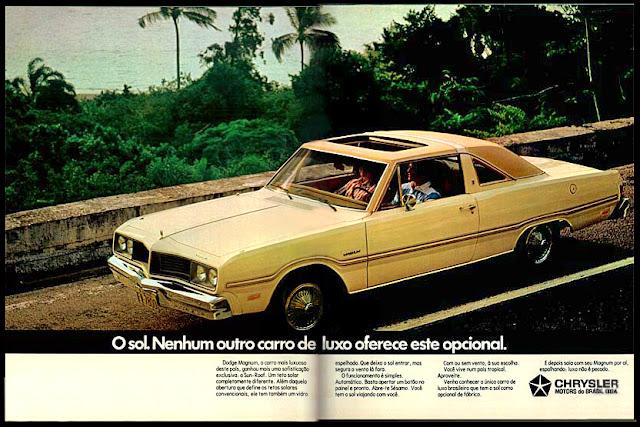 propaganda Dodge Magnum - Chrysler - 1979