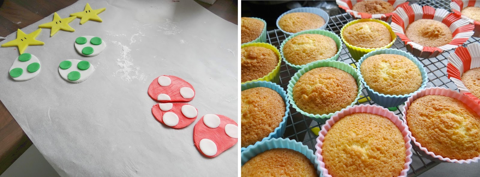 #NintendoEaster, Nintendo Cupcakes, Super Mario Cupcakes