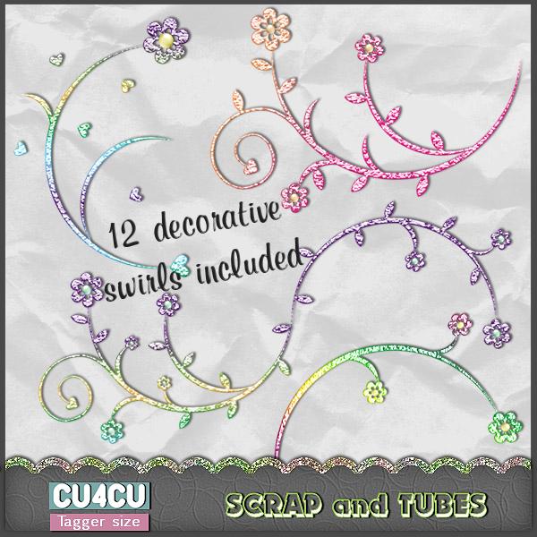 Spring Doodles (TS/CU4CU) .Spring+Doodles_Preview_Scrap+and+Tubes