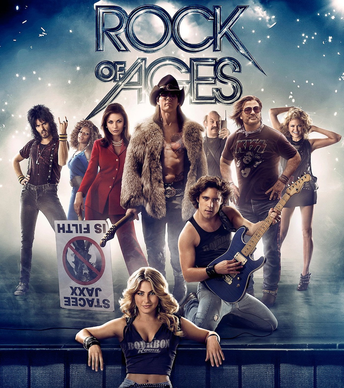 "Smash hit Broadway musical ""Rock of Ages"" rolls to the ... Rock Of Ages Movie Tom Cruise"