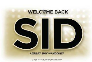 Sidney Crosby Returns, Pittsburgh Penguins