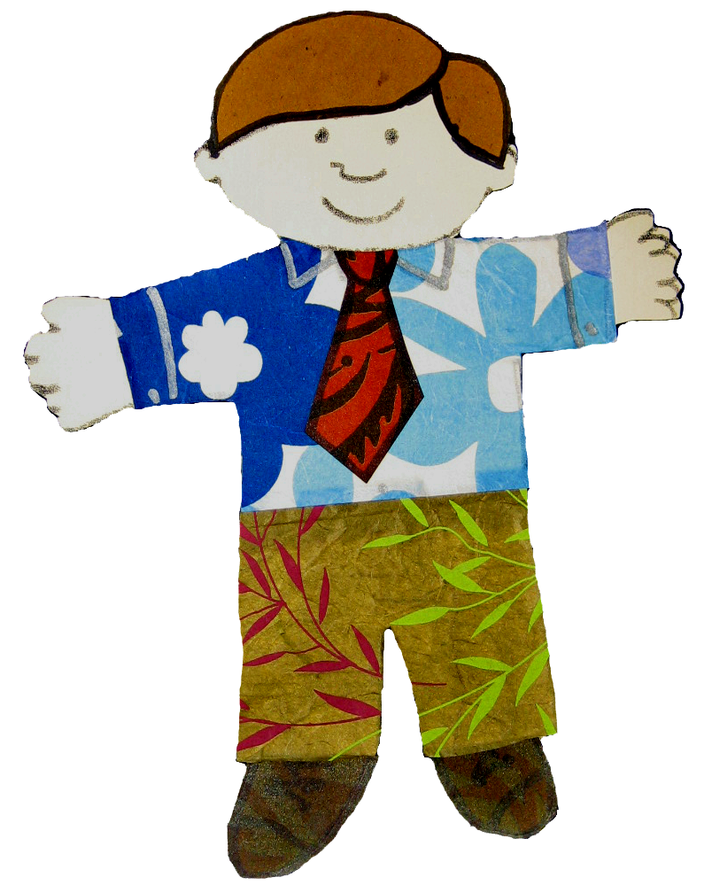 Flat Stanley Clothes Template
