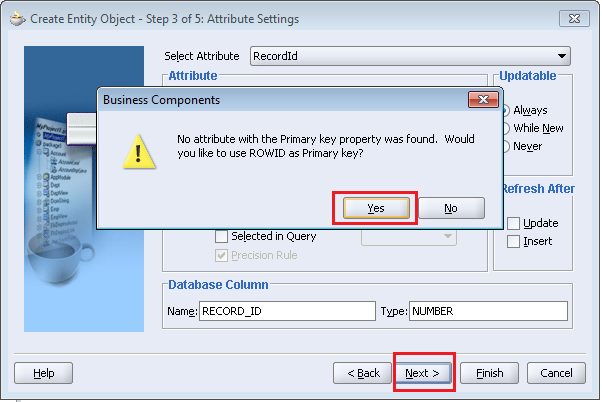 Check the Accessors, Create Method, Validation Method and Remove Method