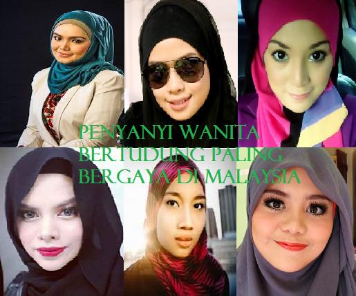 Wanita Bertudung Paling Bergaya Di Malaysia
