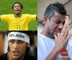 Evangélicos são maioria entre os jogadores brasileiros da atualidade