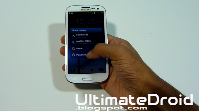 how to take samsung galaxy s3 off safe mode