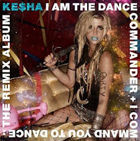 Kesha, Dance Commander, songs, Remix, album, cd, cover