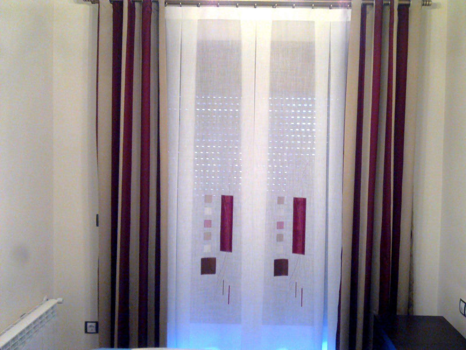 Cortinas para dormitorios modernas cortinas roller for Cortinas dormitorio modernas