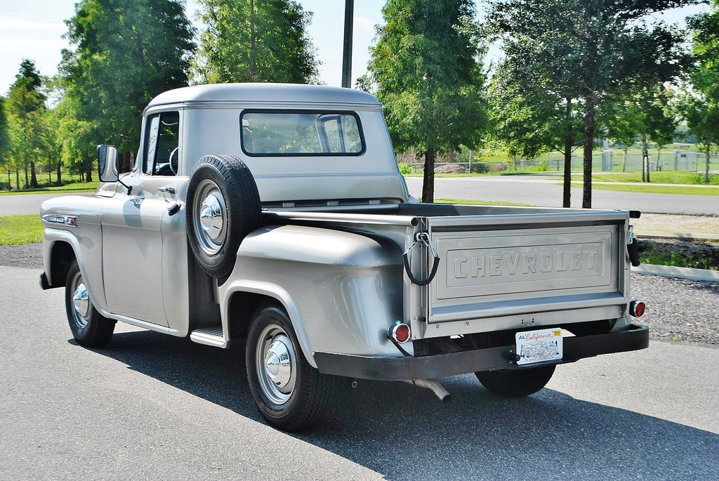 all american classic cars 1959 chevrolet apache stepside pickup truck. Black Bedroom Furniture Sets. Home Design Ideas