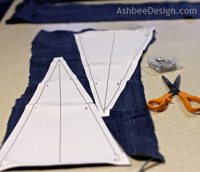 how to make a pillow out of jeans