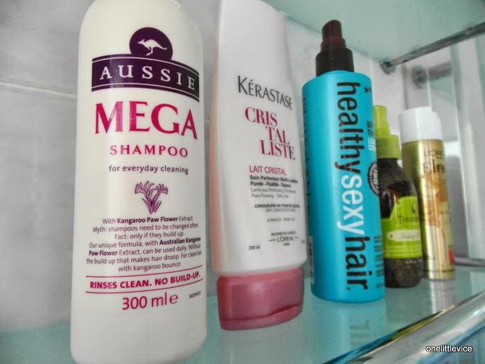 hair care routine combination hair