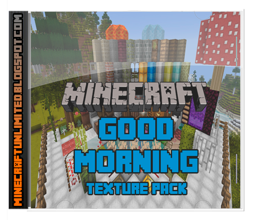 Good Morning Texture Pack Minecraft Carátula