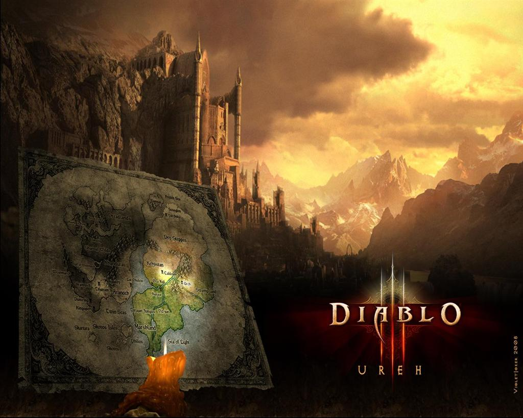 Diablo HD & Widescreen Wallpaper 0.908218918224625