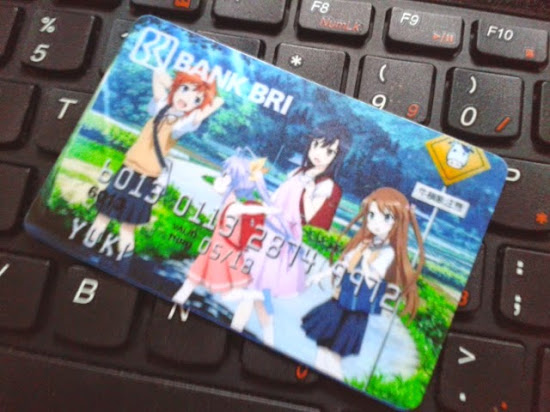 Jual Garskin ATM Anime