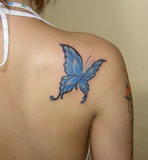 Butterfly Back Tattoo