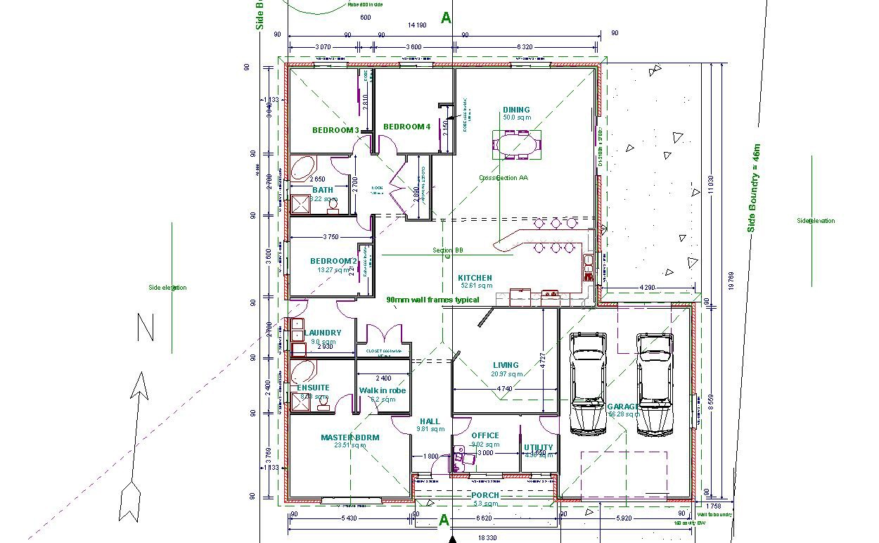 2d Cad Floor Plan Js 1 Vibgyor Associate Gallery On Stunning Autocad For Home