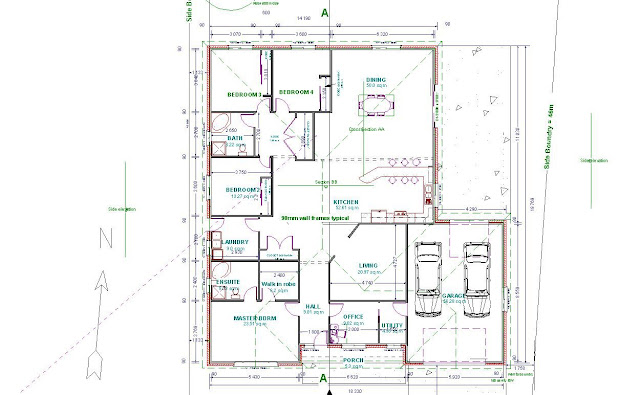Autocad Home Design 2d: Gallery For > Autocad 2d House Plan,Living ...