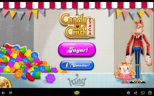 Candy Crush Saga en tu PC