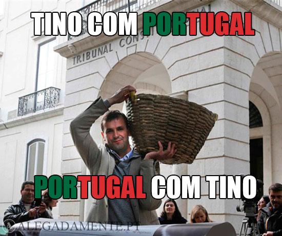 Imagem de Tino de Rans: Tino com Portugal; Portugal com Tino