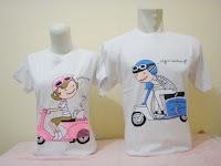 Kaos Couple Lemari Cinta