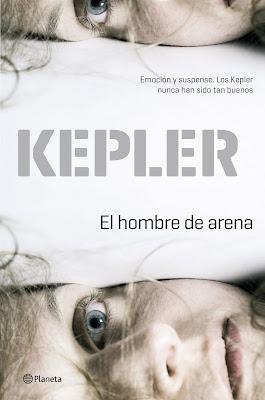 El hombre de arena - Lars Kepler (2014)