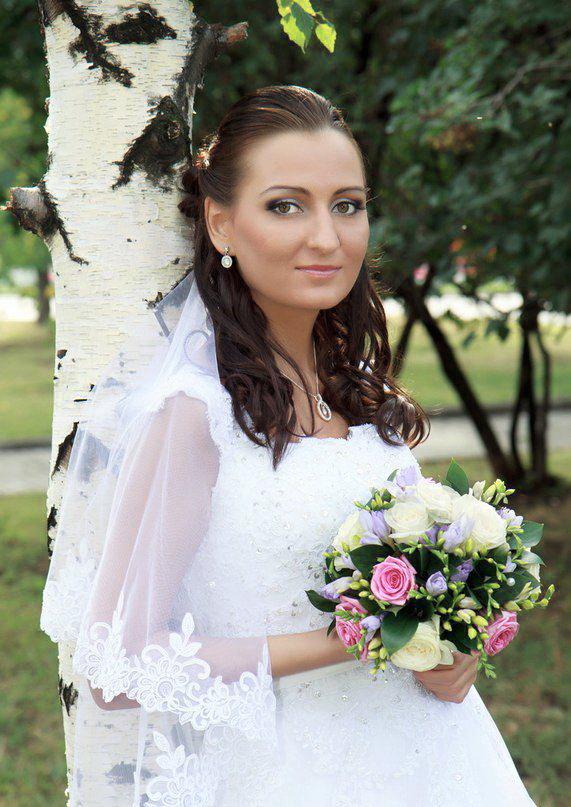 Свадебные прически с фатой 2013 — фото