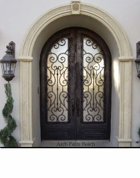 Portail fer forg un ensemble de portes et fen tres en fer forg for Porte et fenetre en fer