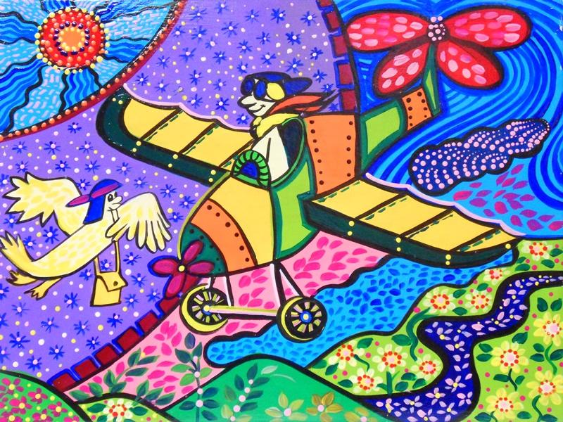 Cuadros pinturas oleos cuadros infantiles modernos con - Oleos decorativos ...