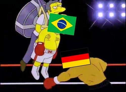 Meme Moe y Homero huyen