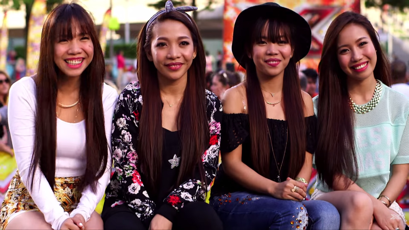 Pinoy group 4th Power Audition for 'The X Factor UK' (VIDEO)