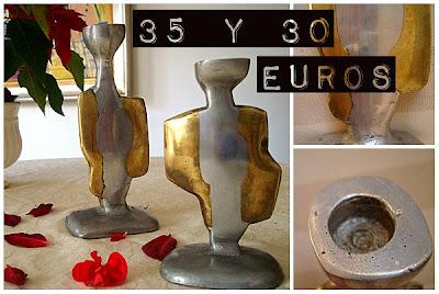 comprar candelabro antiguo para decoracion vintage clásica y nórdica