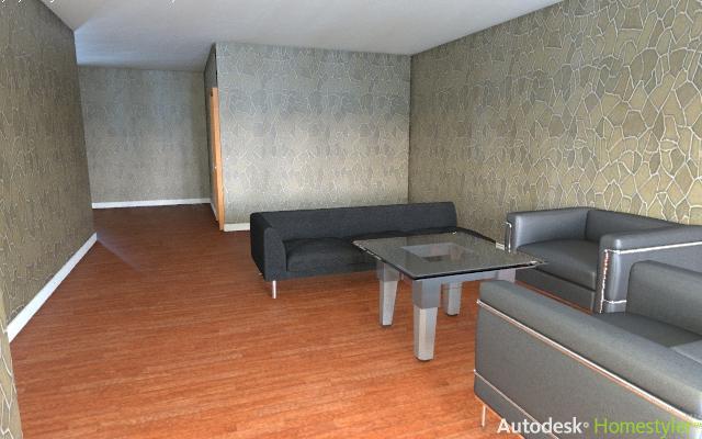 Sala De Estar No Auto Cad ~ Dibujo autocad sala de estar autodesk homestyler