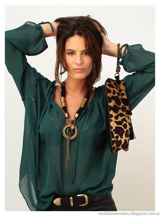 Moda invierno 2014 Marcela Pagella blusas de moda.