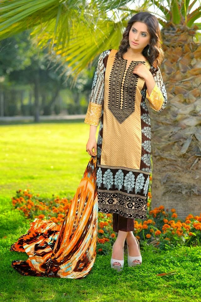 Fancy Parsa Lawn Prints 2015 for Girls