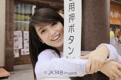 Foto selfie artis cantik  Nabila Jkt48