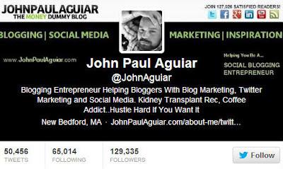 Twitter John Paul Aguiar