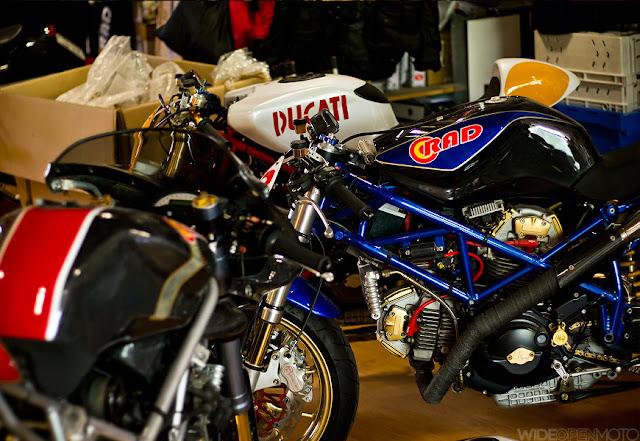 Radical Ducati workshop