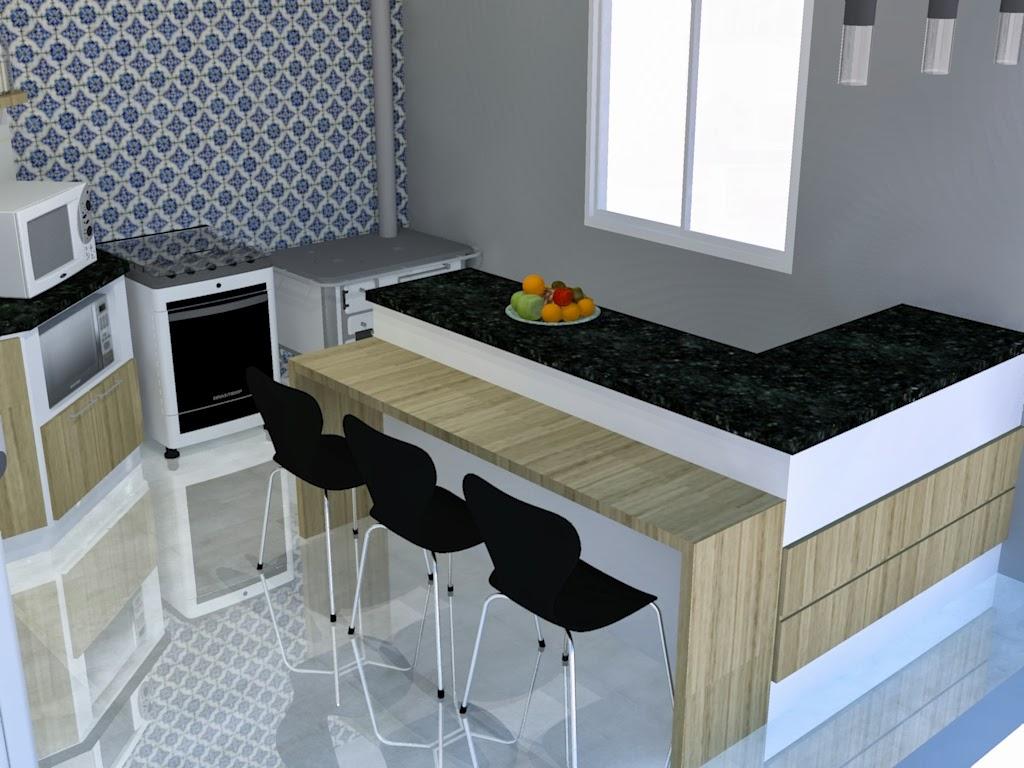 Cozinha Moderna Com Fogo A Lenha De Canto Iglu Cozinha Moderna Com