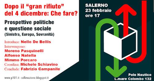 Programma 101, Salerno, 23 febbraio