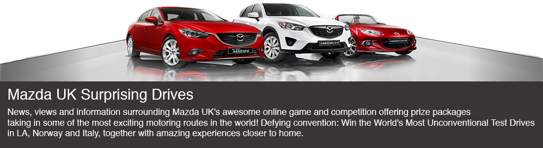 Mazda UK Surprising Drives