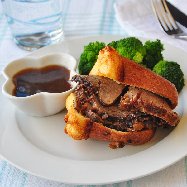 how to make au jus with drippings
