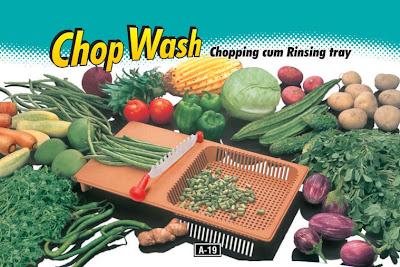 Chop wash