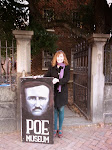 At the Poe House in Richmond.