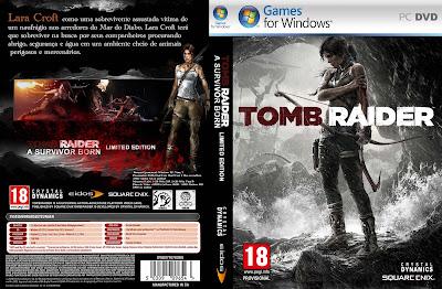 Jogo Tomb Raider 2013 PC DVD Capa